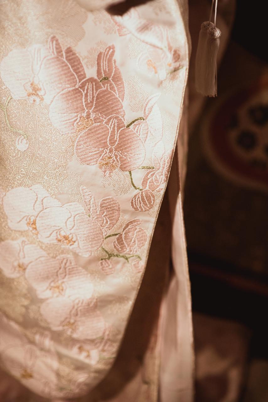 透し模様に唐織胡蝶蘭3